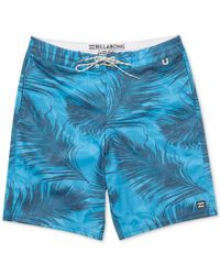 Billabong - Blue Men's All Day Lo Tides Boardshorts for Men - Lyst