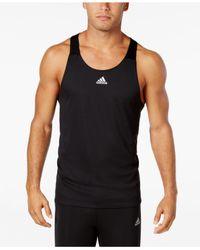 Adidas Originals   Black Men's Response Climalite Running Tank Top for Men   Lyst
