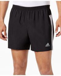 Adidas Originals | Black Men's Response Climalite Running Shorts for Men | Lyst