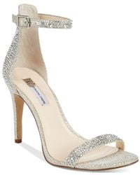 INC International Concepts | Metallic Women's Roriee Rhinestone Ankle-strap Dress Sandals, Only At Macy's | Lyst