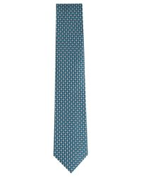 Perry Ellis - Blue Men's Templar Neat Silk Tie for Men - Lyst