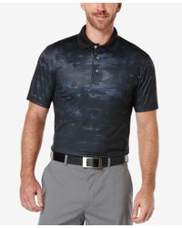 PGA TOUR - Multicolor Men's Camo-print Golf Polo Shirt for Men - Lyst