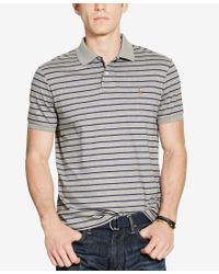 Polo Ralph Lauren | Gray Men's Striped Pima Cotton Soft-touch Polo for Men | Lyst