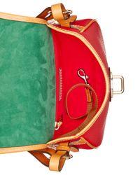 Dooney & Bourke - Red Verona Bionda Cristina Saddle Bag Crossbody - Lyst