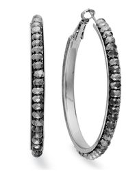 INC International Concepts | Metallic Medium Hoop Earrings, Only At Macy's | Lyst