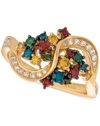 Le Vian   Metallic Exotics Colorful Diamond Ring (5/8 Ct. T.w.) In 14k Gold   Lyst