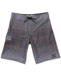 Billabong - Multicolor Men's All Day Plaid Swim Trunks for Men - Lyst