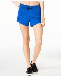 Calvin Klein - Blue Performance Active Shorts - Lyst