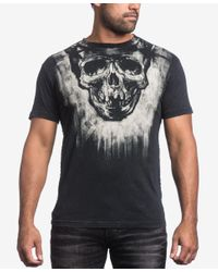 Affliction - Black Men's Graphic-print T-shirt for Men - Lyst