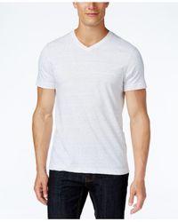 Alfani White Men's V-neck Undershirts, 4-pack for men