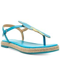 Katy Perry - Blue Polly Flat Sandals - Lyst