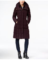Cole Haan   Multicolor Layered Maxi Puffer Coat   Lyst