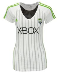 Adidas Originals | White Women's Seattle Sounders Fc Club T-shirt | Lyst