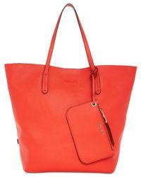 Splendid Red Key West Bag-in-bag Tote