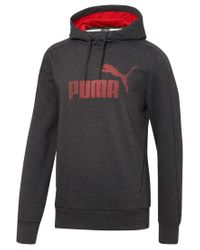PUMA | Gray Men's T7 Drycell Fleece Hoodie for Men | Lyst