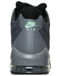 Nike Gray Men's Air Max Invigor Mid Running Sneakers From Finish Line for men