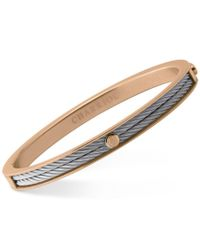 Charriol | Multicolor Women's Forever Two-tone Pvd Stainless Steel Cable Bangle Bracelet | Lyst