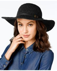 INC International Concepts   Black Packable Floppy Hat, Only At Macy's   Lyst