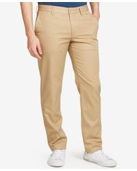Lacoste | Natural Men's Slim-fit Chinos for Men | Lyst