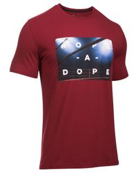 Under Armour | Red Men's Muhammad Ali Graphic T-shirt for Men | Lyst