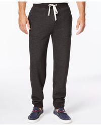 Tommy Hilfiger   Black Men's Hancock Drawstring Sweatpants for Men   Lyst