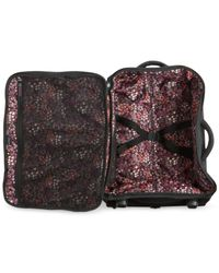 "Vera Bradley | Black 20"" Foldable Carry-on Rolling Suitcase 