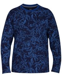 Hurley | Blue Men's Lineup Rogue Floral-print Sweatshirt for Men | Lyst