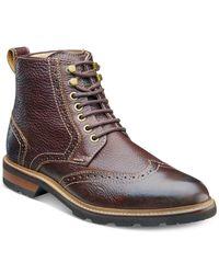 Florsheim | Brown Men's Kilbourn Wingtip Boots for Men | Lyst