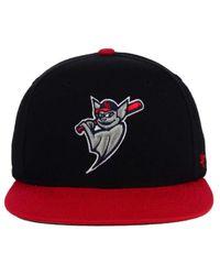 47 Brand - Black Louisville Bats Shot Snapback Cap for Men - Lyst