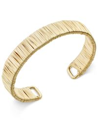 INC International Concepts | Metallic Gold Wire Wrapped Bracelet, Only At Macy's | Lyst