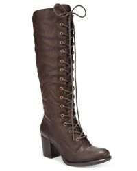 American Rag   Brown Lorah Lace-up Boots, Only At Macy's   Lyst