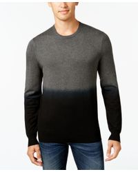 Vince Camuto | Gray Men's Dip-dyed Sweater for Men | Lyst