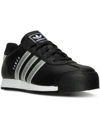Adidas Originals - Black Men's Samoa Casual Sneakers From Finish Line for Men - Lyst