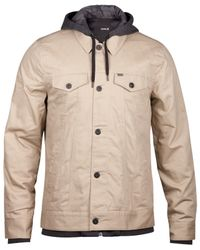 Hurley | Natural Men's Trucker 2.0 Jacket for Men | Lyst