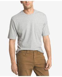 Izod   Gray Men's Double Layer Pocket T-shirt for Men   Lyst
