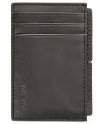 Jack Spade | Black Men's Grant Leather File Wallet for Men | Lyst