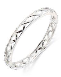 Vera Bradley | Metallic Quilted Bangle Bracelet | Lyst