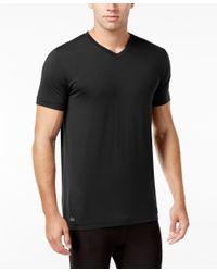 Lacoste | Black Men's V-neck Sleep T-shirt for Men | Lyst