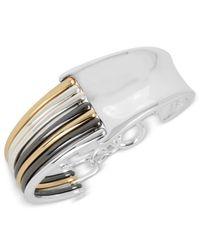 Robert Lee Morris | Metallic Tri-tone Contrast Bangle Bracelet | Lyst