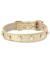 Betsey Johnson | Metallic Dog Collar | Lyst