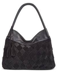 INC International Concepts | Black Ella Hobo, Only At Macy's | Lyst