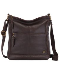 The Sak | Brown Lucia Leather Crossbody | Lyst
