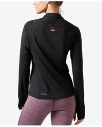 Reebok | Black Speedwick Training Jacket | Lyst