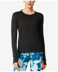 Adidas Originals | Black Climalite® Long-sleeve Running Top | Lyst