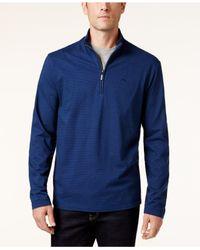 Tommy Bahama | Blue Men's Shadow Cove Half-zip Sweatshirt for Men | Lyst