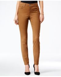 Style & Co. | Multicolor Petite Slim-fit Colored Wash Skinny Jeans | Lyst