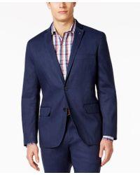 INC International Concepts | Blue Men's Slim-fit Stretch Linen Blazer, Only At Macy's for Men | Lyst