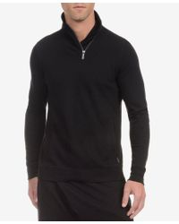 2xist   Black 2(x)ist Men's Quarter-zip Shawl-collar Baselayer for Men   Lyst