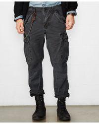 Denim & Supply Ralph Lauren - Black Slim-fit Field Cargo Pant for Men - Lyst