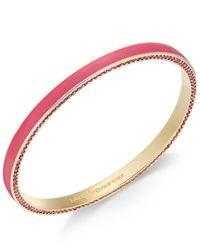 kate spade new york | Metallic Hidden Crystal Bangle Bracelet | Lyst